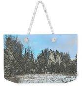 Country Winter 15 Weekender Tote Bag