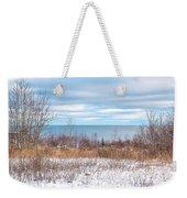 Country Winter 16 Weekender Tote Bag