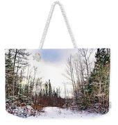 Country Winter 5 Weekender Tote Bag