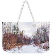 Country Winter 6 Weekender Tote Bag