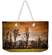 Countryscape With Bell Tower Weekender Tote Bag