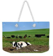 Countryside Cows Weekender Tote Bag