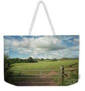 Countryside In Wales Weekender Tote Bag