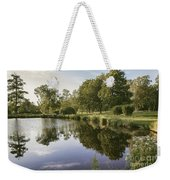 Countryside Park Pond Weekender Tote Bag