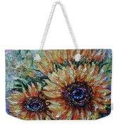 Countryside Sunflowers Weekender Tote Bag