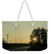 Countryside Sunset Weekender Tote Bag