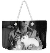 County Fair: Rabbit Show Weekender Tote Bag