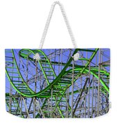 County Fair Thrill Ride Weekender Tote Bag
