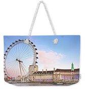 County Hall And London Eye Weekender Tote Bag