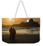 Couple At Harris Beach 0197 Weekender Tote Bag