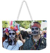Couple Day Of Dead 2 Weekender Tote Bag