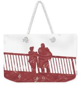 Couple On Bridge Weekender Tote Bag