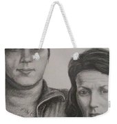 Couple Portrait 2 Weekender Tote Bag