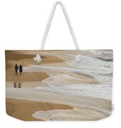 Couple Walking Makena Beach Weekender Tote Bag