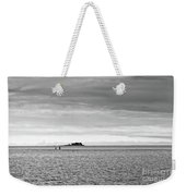 Couple Walking On A Sandbank Weekender Tote Bag