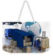 Courier Services Weekender Tote Bag