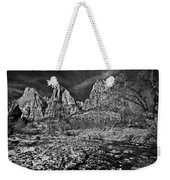 Court Of The Patriarchs II - Bw Weekender Tote Bag
