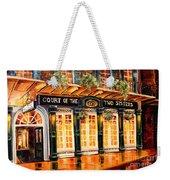 Court Of The Two Sisters Weekender Tote Bag by Diane Millsap