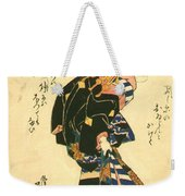 Courtesan And Riddle 1830 Weekender Tote Bag