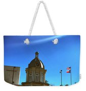 Courthouse And Flags Weekender Tote Bag