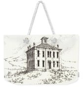 Courthouse Belmont Ghost Town Nevada Weekender Tote Bag