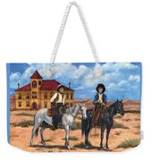Courthouse Cowboys Weekender Tote Bag