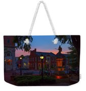 Courthouse Square Weekender Tote Bag