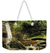 Courthouse Waterfall Weekender Tote Bag