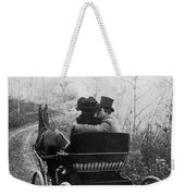 Courtship/carriage Ride Weekender Tote Bag