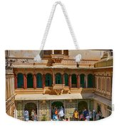 Courtyard, City Palace, Udaipur Weekender Tote Bag