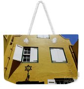 Courtyard Of Curacao Synagogue Mikve Israel-emanuel Weekender Tote Bag