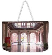 Courtyard Of The Central Post Office, Lima Peru Weekender Tote Bag