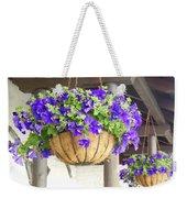 Courtyard Petunias Weekender Tote Bag