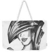 Cover Face Weekender Tote Bag