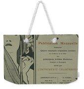 Cover Page From Lestampe Moderne Weekender Tote Bag