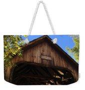 Covered Bridge In Woodstock Weekender Tote Bag
