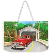 Covered Bridge Lincoln Weekender Tote Bag