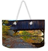 Covered Bridge Over The Cold River Weekender Tote Bag