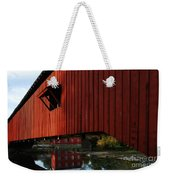 Covered Bridge Reflections Weekender Tote Bag