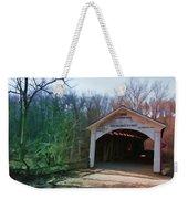 Covered Bridge Turkey Run Weekender Tote Bag
