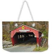 Covered Bridge Vermont Weekender Tote Bag