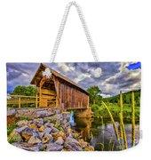 Covered Bridge, Vt Weekender Tote Bag