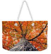 Covered In Fall Weekender Tote Bag