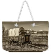 Covered Wagon Weekender Tote Bag