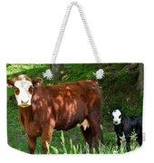 Cow And Calf Weekender Tote Bag