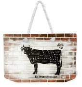 Cow Cuts Weekender Tote Bag