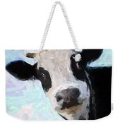 Cow Head Weekender Tote Bag