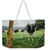 Cow Herd Weekender Tote Bag