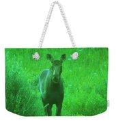 Cow Moose   Weekender Tote Bag