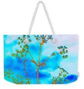 Cow Parsley Blossom 2 Weekender Tote Bag